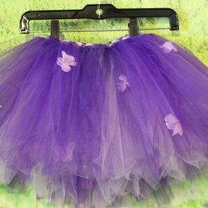 Other - TUTU Purple WIth lavender flowers